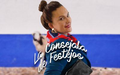 Mari Trini, concejala de festejos de Fuentelobueno