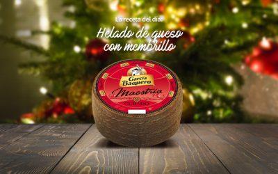 #LoBuenoUne, también en Navidad: receta de helado de queso con membrillo.