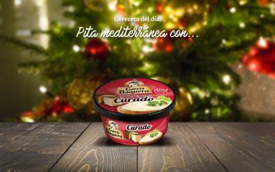 #LoBuenoUne, también en Navidad: receta pitas mediterráneas García Baquero