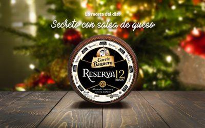 #LoBuenoUne, también en Navidad: receta de secreto con salsa de queso RESERVA 12 MESES