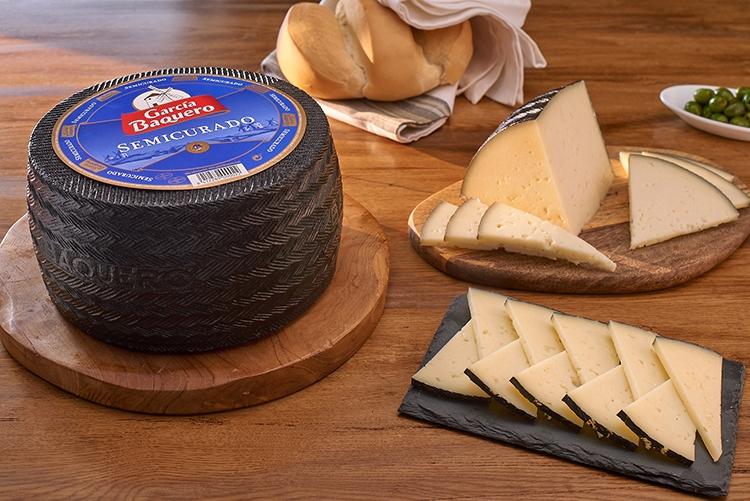 Un buen plato de queso semicurado de García Baquero, lo mejor para cada miembro de la familia