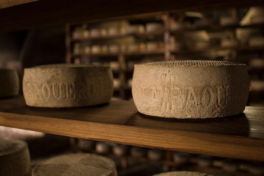 El afinado del queso donde florece la corteza natural enmohecida de quesos como POK y Las Cavas, Barus y Artés García Baquero
