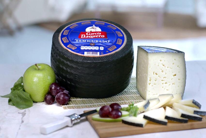Aroma del queso: aromas frescos del queso semicurado de García Baquero. Un buen queso para una cata de queso