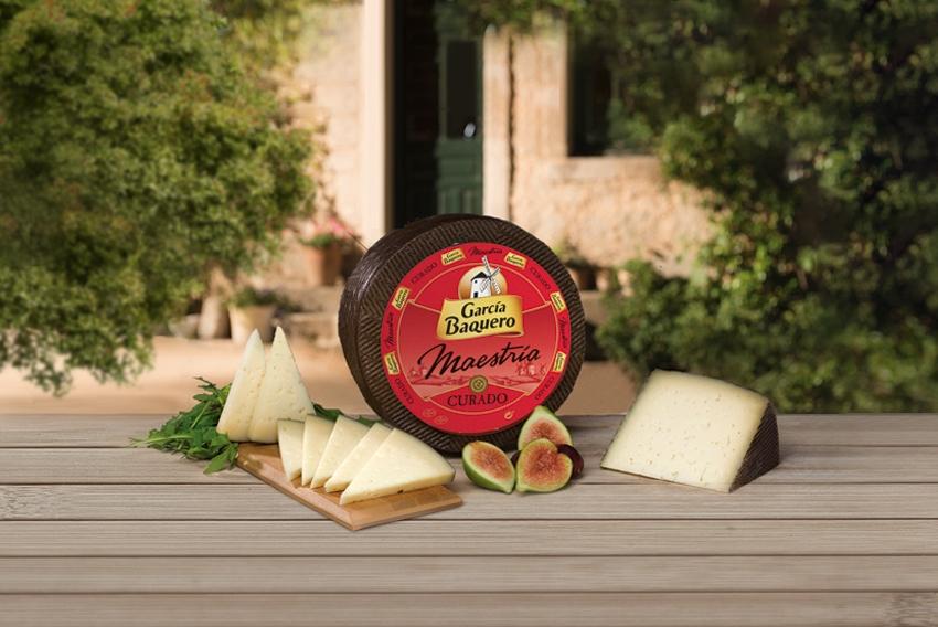 Aroma del queso: aromas tostados y dulces queso curado Maestría de García Baquero, perfecto para catar queso