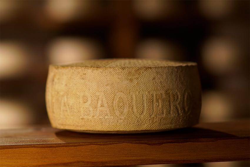 corteza natural florecida, aspecto del queso las cavas Artés y Barus de García Baquero - aspecto y aroma del queso