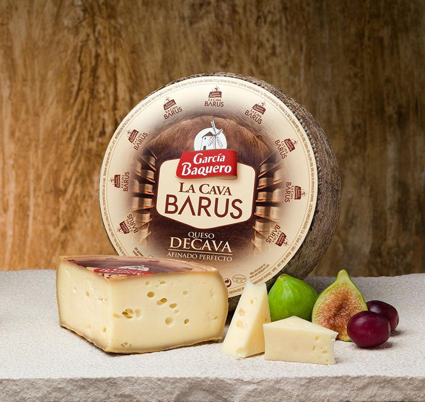 Gusto y retrogusto del queso. Cata queso de La Cava Barus García Baquero y aprecia su gusto y olfato como un frommelier