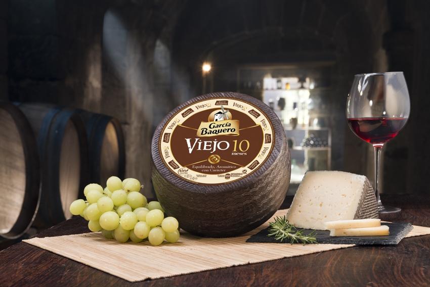 Aroma del queso: queso aromático como el buen queso viejo 10 meses de García Baquero y catar queso como un frommelier