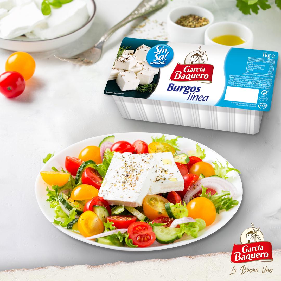 Cuida tu salud cardiovascular con queso sin sal añadida o queso en lonchas García Baquero bajo sal, alimento cardioprotector