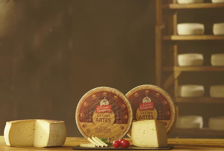 La Cava Artés, uno de los quesos de Cava de García Baquero concorteza enmohecida y sabor redondo, dulce y afrutado