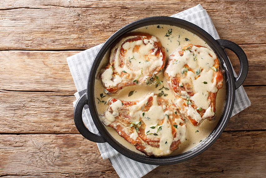 secreto con salsa de queso Reserva 12 meses para Navidad con el mejor queso García Baquero #LoBuenoUne también en Navidad