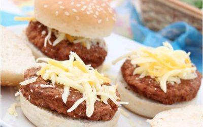 Mini hamburguesas al Reserva García Baquero