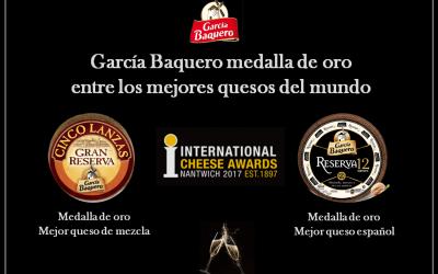 García Baquero medalla de oro entre los mejores quesos del mundo