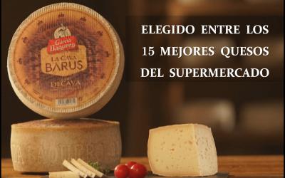 La Cava Barus, elegido entre los 15 mejores quesos del supermercado