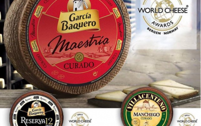 García Baquero en los World Cheese Awards 2018