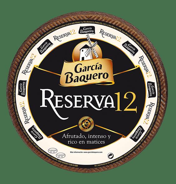 Queso Añejo Reserva 12 Garcia Baquero