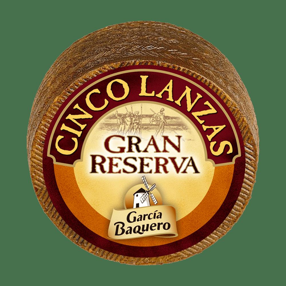 Queso Añejo Cinco Lanzas Gran Reserva - Garcia Baquero